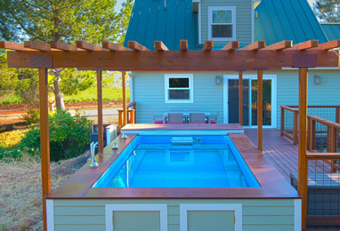 Backyard Pools Small Backyard Pool Backyard Swimming Pools