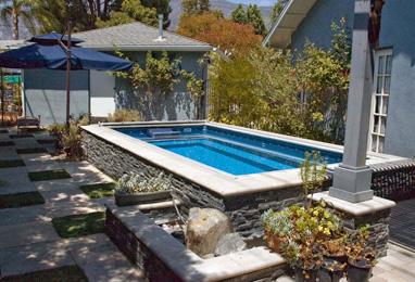 Pool In Deck In Deck Pool Decks With Pools Endless Pools