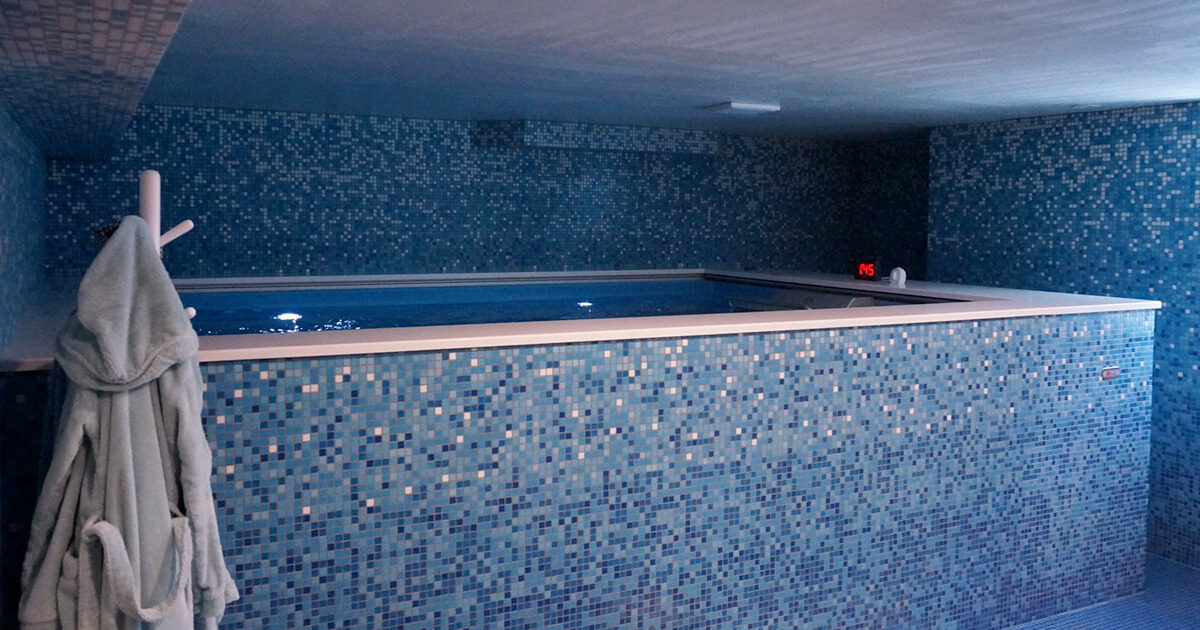 Basement Pool Pool Basement Endless Pool In Basement