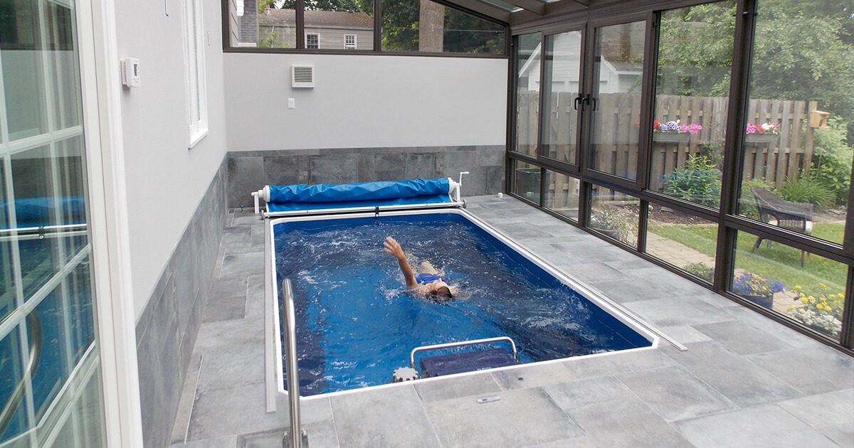 Turn Your Sunroom Into A Private Pool Room