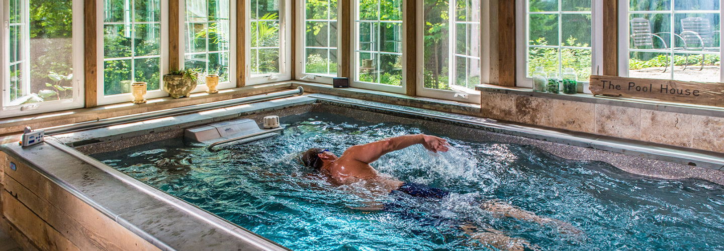 Swim At Homeall The Benefits Of Traditional Swimming Poolore In A Fraction E