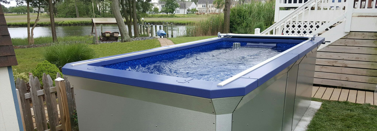 Streamline pool specifications for Endless pool in basement