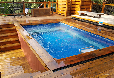 Endless Pool Cost Estimate Cost To Build An Endless Pool Controlling Endless Pool Install Costs