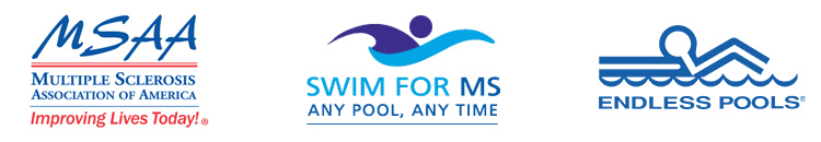 MSAA, Swim for MS, and Endless Pools branding