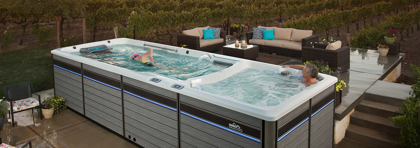 Endless Pools Swimming Machines | Swimming Pools, Indoor Exercise Pool
