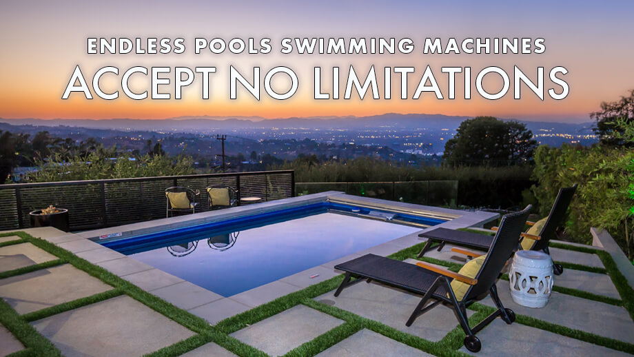 Endless Pools Swim Current Machines Small Swimming Pools